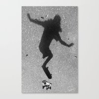 skate Canvas Prints featuring Skate by Keepcalmdude