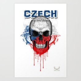 To The Core Collection: Czech Republic Art Print