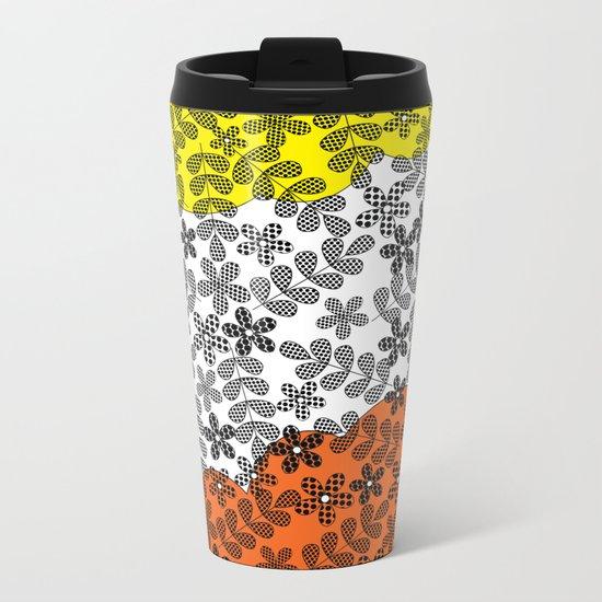 Pattern I 9 Metal Travel Mug