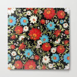 Art Flowers V6 Metal Print