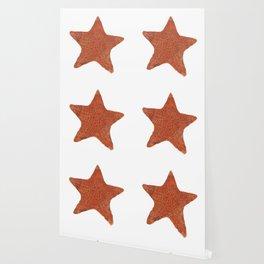 Watercolor Starfish Wallpaper