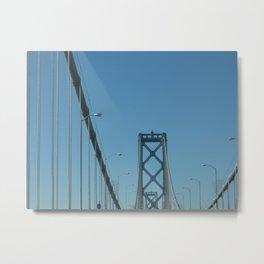 Bay Bridge Metal Print