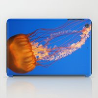 jelly fish iPad Cases featuring Jelly by Jasmine Keyes