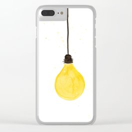 Lamp I Clear iPhone Case