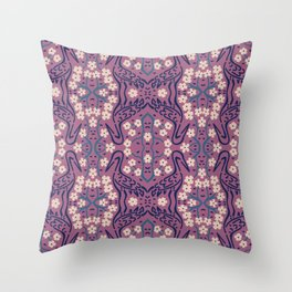 Japanese Styles Pattern 7 Throw Pillow