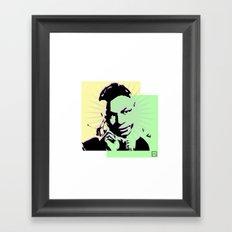 Nat King Cole Framed Art Print