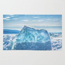 Pressure ridge of lake Baikal Rug