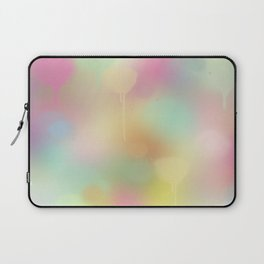 Soft pastel watercolour abstract Laptop Sleeve