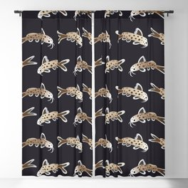 Leopard catfish Blackout Curtain