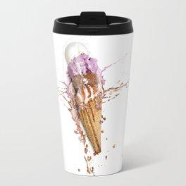 Ice cream splat Travel Mug