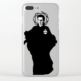 Nick Cave icon saint art Clear iPhone Case