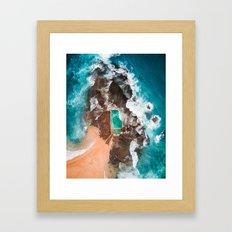 Mona Vale Pool Framed Art Print