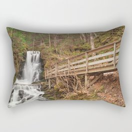 Dickson Boardwalk Falls Rectangular Pillow