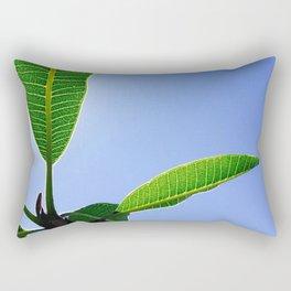 Blue Winter Sky Rectangular Pillow