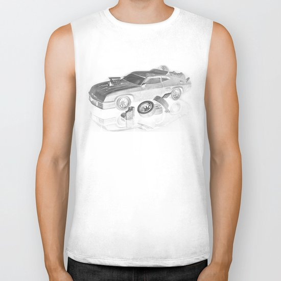 Mad Max Interceptor Biker Tank