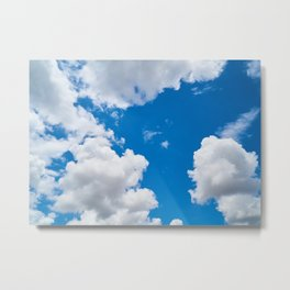 Clouds 3 Metal Print