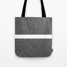 Noise Interrupted Tote Bag
