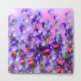 Spring Blush too, Mauve Moods Metal Print