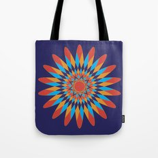 Kaleidoscope Quilt Tote Bag