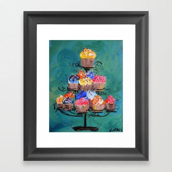 Sweet Cakes Framed Art Print