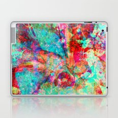 abstract orchid Laptop & iPad Skin