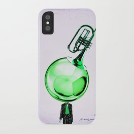Modern Cornet iPhone Case