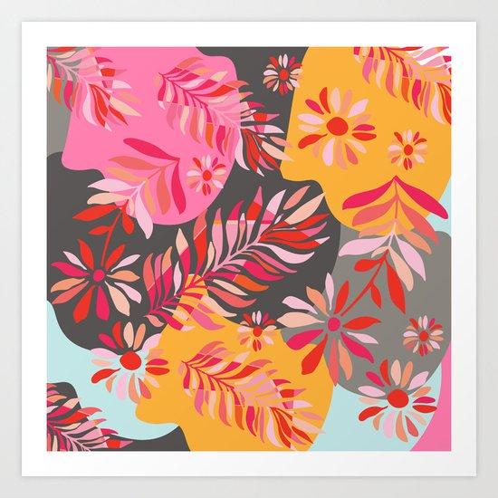 Flower Power I Art Print