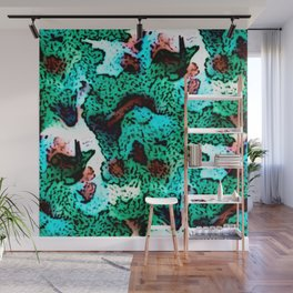 Spring Mountainside Wall Mural