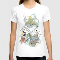 studio ghibli T-shirts featuring Ghibli by Alba Palacio