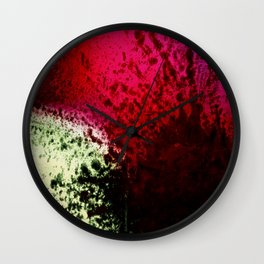 Crushed Emotions Wall Clock