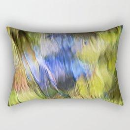 Tropical Mosaic Abstract Art Rectangular Pillow