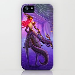 The forest's protector iPhone Case