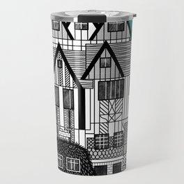 Tudor Revival Travel Mug