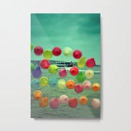 balloons in Istanbul Metal Print