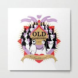 Oldfashioned Metal Print
