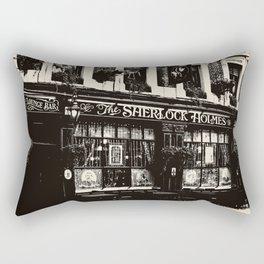 The Sherlock Holmes Pub London Rectangular Pillow