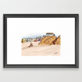 View of Outlandish - Archie of Outlandish Framed Art Print