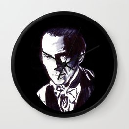 The Gentle Man of Horror Wall Clock