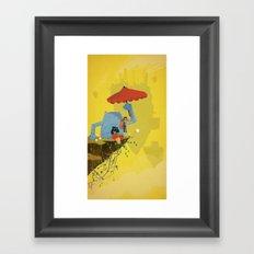 Matilda and Bouru - Melancholy Framed Art Print