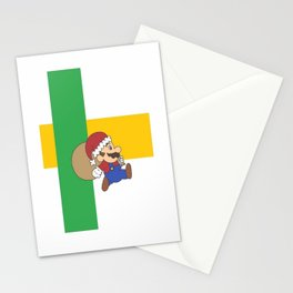 christmas mario Stationery Cards