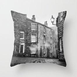 Castle Street, Lancaster Throw Pillow