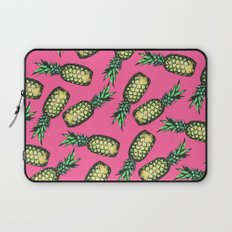 Pineapple Pattern Laptop Sleeve