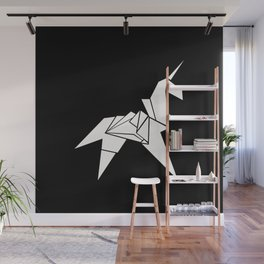Unicorn Origami Wall Mural