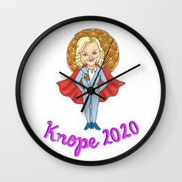 Knope 2020 Wall Clock