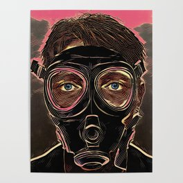 INFERNO MASK DOWNFALL Poster