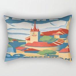 Vintage poster - Berne Rectangular Pillow