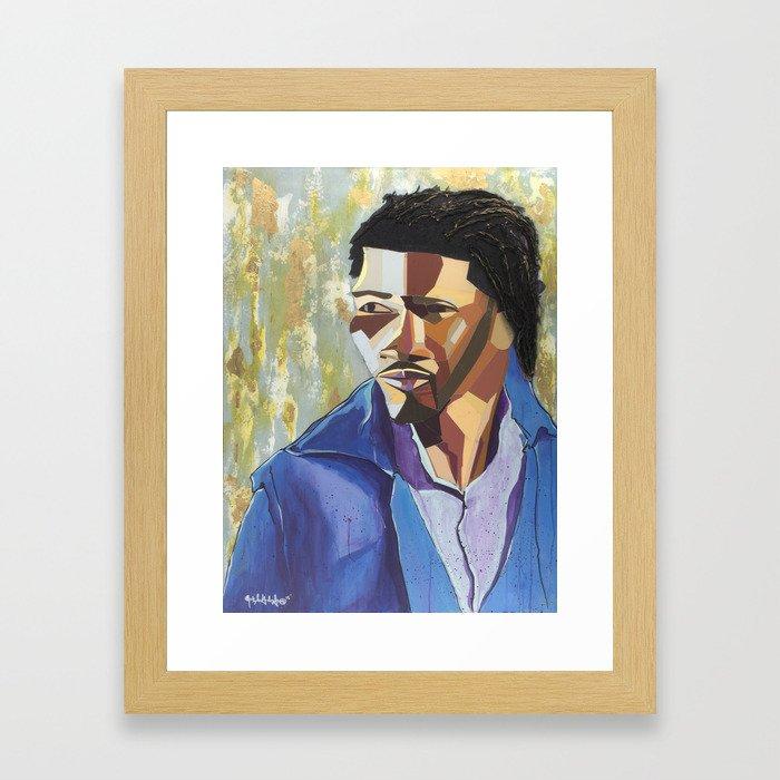The Tribute Series-Mathew Ajibade Framed Art Print
