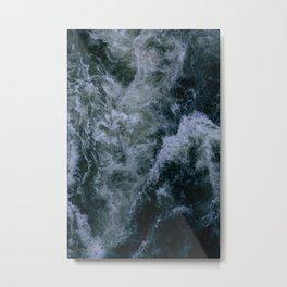 Churning Waters Metal Print