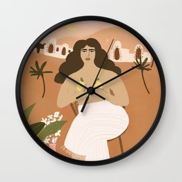 When life gives you lemons Wall Clock
