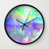 rio Wall Clocks featuring Rio by LuaMA